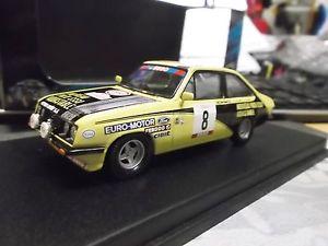 【送料無料】模型車 モデルカー スポーツカー フォードエスコートツールドコルスラリーボーボス#ford escort rs2000 rallye tour de corse 1979 beauchef 8 limited trofeu 143