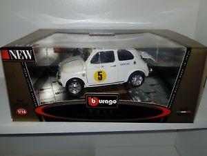 【送料無料】模型車 モデルカー スポーツカー フィアットアバルトホワイトミントパッケージ