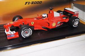 【送料無料】模型車 モデルカー スポーツカー フォーミュラフェラーリバリチェロホットホイールformel 1 2000 ferrari f2000 rbarrichello 4118 hot wheels neu amp; ovp 26738
