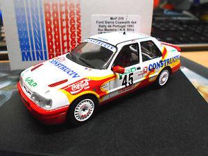 【送料無料】模型車 モデルカー スポーツカー フォードシエラコスワース#マデイラポルトガルラリーford sierra cosworth rs 4x4 portugal rallye 1993 45 madeira construciv ga 143