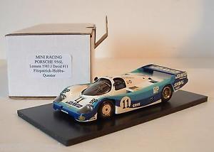 【送料無料】模型車 モデルカー スポーツカー ミニレーシングポルシェルマン#デビッドフィッツパトリックホッブズ
