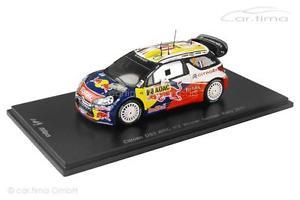 【送料無料】模型車 モデルカー スポーツカー シトロエンラリードイツオジェスパークcitroen ds3 wrc winner deutschland rally 2011 ogier ingrassia spark 1