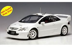 【送料無料】模型車 モデルカー スポーツカー プジョーラリーautoart 80455 80555 80556 80557 80558 peugeot 307 wrc rally amp; road cars 118th