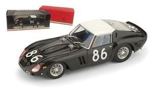 【送料無料】模型車 モデルカー スポーツカー フェラーリグアテマラ#タルガフロリオスケールbrumm r535 ferrari 250 gto 3451gt 86 targa florio 1962 143 scale
