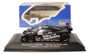 【送料無料】模型車 モデルカー スポーツカー ネットワークマクラーレン#ルマンスケールixo lm1995 mclaren gtr 59 le mans winner 1995 dalmaslehtosekiya 143 scale