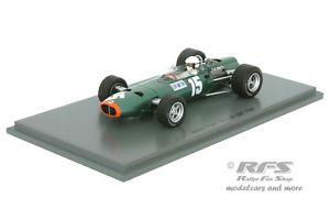 【送料無料】模型車 モデルカー スポーツカー クリスアーウィンフォーミュライギリススパークbrm p261 chris irwin formel 1 british gp 1967 143 spark 4795