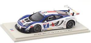 【送料無料】模型車 モデルカー スポーツカー マクラーレン#グアテマラツアースパークmclaren mp412c 8 beltoisepasquali ffsa gt tour 2012 spark 143 sf066