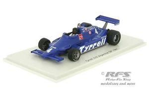 【送料無料】模型車 モデルカー スポーツカー ティレルフォードフォーミュラグランプリアルゼンチンスパークtyrrell 010 ford zunino formel 1 gp argentinien 1981 143 spark 4318