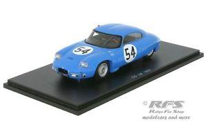 【送料無料】模型車 モデルカー スポーツカー ダイナルマンスパークcd dyna panhard 24h le mans 1962 lelong hanrioud 143 spark 4711