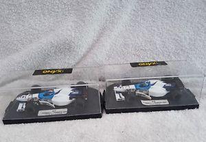 【送料無料】模型車 モデルカー スポーツカー オニキスフォーミュラミカサロonyx formula one 276277 tyrellyamaha 024 mika salo, ukyo katayama