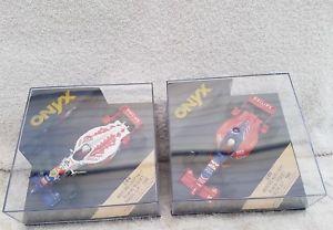 【送料無料】模型車 モデルカー スポーツカー オニキスフォーミュラハードリカルドブラジルヨーロッパアリシアonyx formula 1 143 284 amp; 286 arrows hart ricardo rosset 1996 brazileurope gp