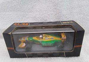 【送料無料】模型車 モデルカー スポーツカー オニキススケールフォーミュラベネトンマーティンブランドルonyx 143 scale formula one 1992 144 benetton b192 martin brundle