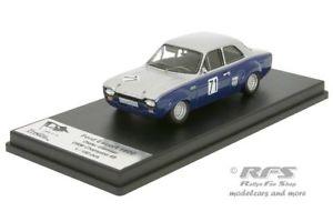 【送料無料】模型車 モデルカー スポーツカー フォードエスコートディーターford escort 1600 tc mk i drm 1969 dieter glemser 143 trofeu derc 001