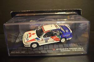 【送料無料】模型車 モデルカー スポーツカー ラリーギャランスケールダイカストmitsubishi galant vr4 rac rally 1989 diecast vehicle in scale 143