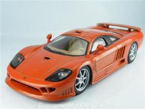 【送料無料】模型車 モデルカー スポーツカー サリーンモデルカースケールメタリックオレンジカラースキームen s7 model car 143rd scale metallic orange colour scheme example t3412z