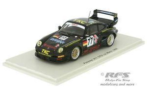 【送料無料】模型車 モデルカー スポーツカー ポルシェルマンスパークporsche 911 gt2 24h le mans 1996 fuster jurasz suzuki  143 spark 4447