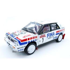 【送料無料】模型車 モデルカー スポーツカー ランチアデルタオリオールサンレモサンlancia delta hf integrale 16v auriol et occeli san remo 1991 sun star 118