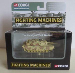 【送料無料】模型車 モデルカー スポーツカー コーギーアブラハムタンクミントマシンcorgi cs90109 fighting machines mi abrahams wwii tank boxed mint