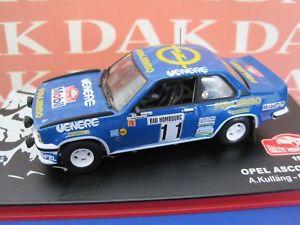 【送料無料】模型車 モデルカー スポーツカー モデルカーオペルアスコナラリーモンテカルロdie cast 143 modellino auto opel ascona 400 rally monte carlo 1981 akullang