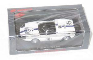【送料無料】模型車 モデルカー スポーツカー フォードスパイダーフォードフランスルマン#143 ford gt40 spyder  ford france sa le mans 24 hrs 1965 15