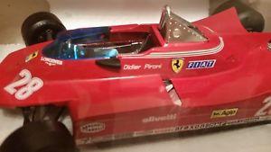 【送料無料】模型車 モデルカー スポーツカー フェラーリ#フィアットグランプリフォーミュラburago, ferrari 312t5, fiat, grand prix formula 1, 28, 1980, d pironi, 114