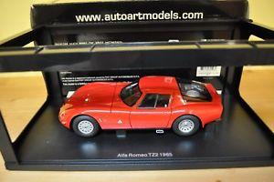 【送料無料】模型車 モデルカー スポーツカー アルファロメオジュリアautoart alfa romeo giulia tz2 118