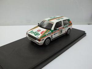 【送料無料】模型車 モデルカー スポーツカー モデルフィアットウノターボサンレモステッカーdecals for model sc143 fiat uno turbo ralli di san remo 1986