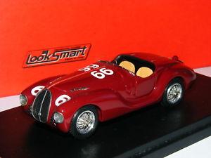 【送料無料】模型車 モデルカー スポーツカー フェラーリミッレミリア#look smart ls285b auto avio costruzioni ferrari 815 1940 mille miglia 66 143