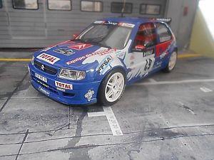 【送料無料】模型車 モデルカー スポーツカー シトロエンツールドコルスラリー#ローブオットーcitroen saxo kitcar rallye tour de corse 49 loeb total 1999 neu otto 118
