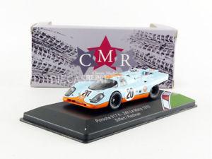 【送料無料】模型車 モデルカー スポーツカー ポルシェルマンcmr 143 porsche 917 k gulf le mans 1970 cmr43001