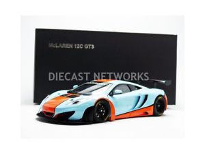 【送料無料】模型車 モデルカー スポーツカー マクラーレングアテマラautoart 118 mclaren mp412c gt3 gulf 2013 81343
