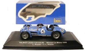 【送料無料】模型車 モデルカー スポーツカー ネットワークタルボットg#ルマンスケールixo lm1950 talbot lago t26 gs 5 le mans winner 1950 rosierrosier 143 scale