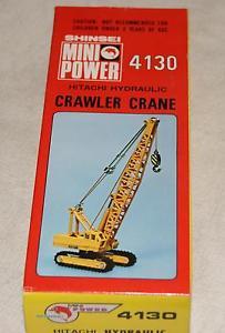 【送料無料】模型車 モデルカー スポーツカー ミニパワークローレーンビンテージshinsei 170 mini power 4130 hitachi crawler crane vintage diescast 60s 70s