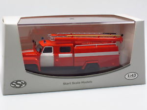 【送料無料】模型車 モデルカー スポーツカー スタートスケールモデルstart scale models ssm1266, gaz 5312 ac30 tlf feuerwehr fire tender 143