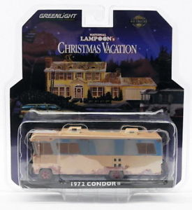 【送料無料】模型車 モデルカー スポーツカー greenlight 33100a 164 1972 condor ii rv lampoons christmas vacation 1989