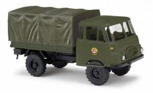 【送料無料】模型車 モデルカー スポーツカー ブッシュトラックbusch lkw robur lo 1800 a, gst 51604