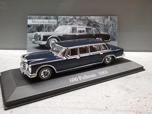 【送料無料】模型車 モデルカー スポーツカー メルセデスベンツプルマンmercedes benz 600 pullmann      w100    143 neu und ovp