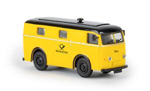 【送料無料】模型車 モデルカー スポーツカー パッケージワゴンスターリンbrekina 58300 elektropaketwagen deutsche post von starline