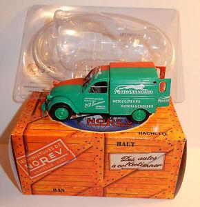 【送料無料】模型車 モデルカー スポーツカー シトロエンアシェットヒートリーンボックスnorev hachette citroen 2cv azu 1958 motostandard lembach basrhin 143 in box