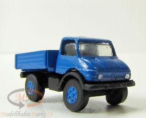 【送料無料】模型車 モデルカー スポーツカー メルセデスオープンプラットフォームスケールimu 12042 mercedes unimog mit pritsche en blau metall spur n 1160 ovp