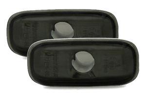 【送料無料】模型車 モデルカー スポーツカー カップルサイドマーカアウディ couple repeaters gems side indicators audi a2 8z 72000 smoke m1b1sv m1b12
