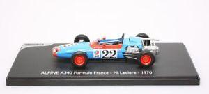 【送料無料】模型車 モデルカー スポーツカー コースミニチュアアルパインフォーミュラフランスvoiture de course eligor miniature alpine a 340 formule france mleclere 1970 1