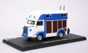 【送料無料】模型車 モデルカー スポーツカー ミニチュアシトロエンタイプトランスポートデv108eligor miniature citron type h transport de chevaux 143