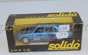 【送料無料】模型車 モデルカー スポーツカー エッソn906 solido voiture bmw 530 n 89 bleu nf b esso sourd