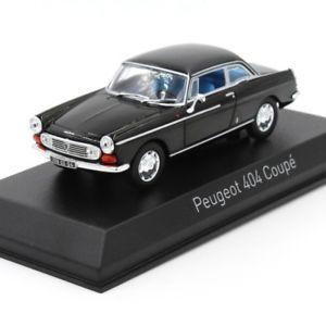 【送料無料】模型車 モデルカー スポーツカー プジョークーペnorevnorev 474431 peugeot 404 coup 1967 noire 143