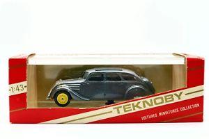 【送料無料】模型車 モデルカー スポーツカー プジョー143 teknoby peugeot 402 b 1938 tourisme