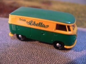【送料無料】模型車 モデルカー スポーツカー #ボックス187 brekina 0251 vw t1 b kasten libella