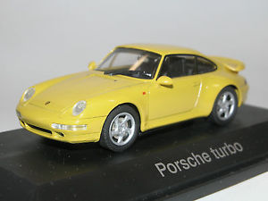 【送料無料】模型車 モデルカー スポーツカー ポルシェターボスピードイエローschuco 04113, porsche 911 turbo, 1995, speedgelb, 143 ovp