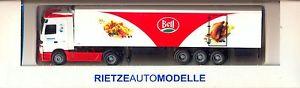 【送料無料】模型車 モデルカー スポーツカー クールベルアクトロスrietze 65716 keepcool transport und logistik ag bell ch mb actros lh