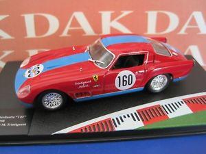 【送料無料】模型車 モデルカー スポーツカー フェラーリモデルカーツアーフランスdie cast 143 modellino auto ferrari 250 gt berlinetta tdf n160 tour france 1958